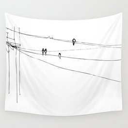 swallows Wall Tapestry