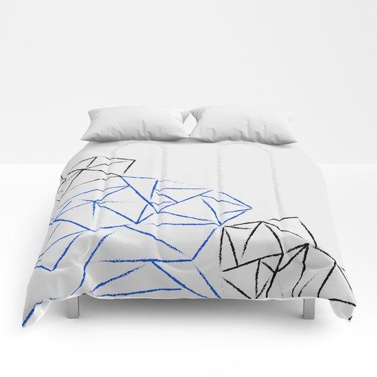 Astoria Grey Comforters