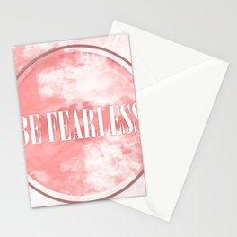 Be Fearless Stationery Cards