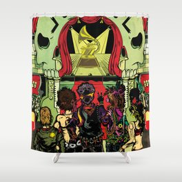 27 Club | Dead Rock Stars Shower Curtain