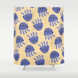 Jelly Fish pattern Shower Curtain