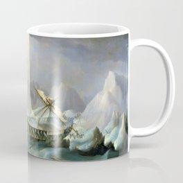 Shipwreck Off A Rocky Coast - Thomas Buttersworth Coffee Mug