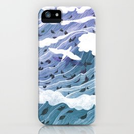 From Leaf to Feather iPhone Case