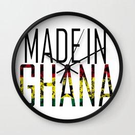 Made In Ghana Wall Clock