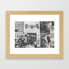 Brixton Village Market Entrance Framed Art Print