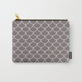 Warm Gray Scales Carry-All Pouch