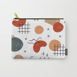 Hand Drawn Abstract pattern Carry-All Pouch