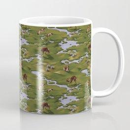 Vicuñas and Flamingoes Coffee Mug