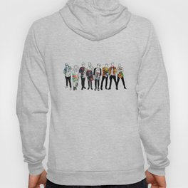 Music Improvised Art Series Hoody