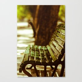 Bench Mark Canvas Print