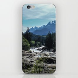 Mountains of Vancouver Island iPhone Skin