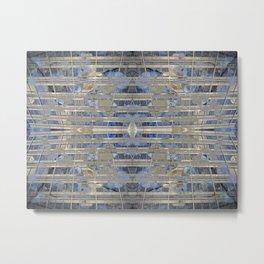 Synchronica geometry Metal Print