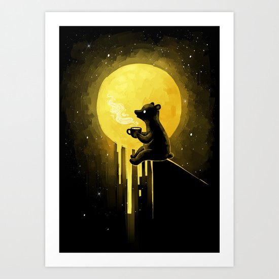 Honeymoon Art Print