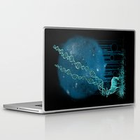 dna Laptop & iPad Skins featuring DNA Deer by Jorge Garza
