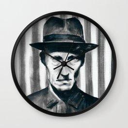 Burroughs Wall Clock