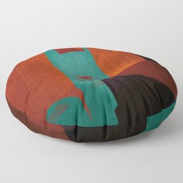 RangeMe Art - FuFinger Floor Pillow