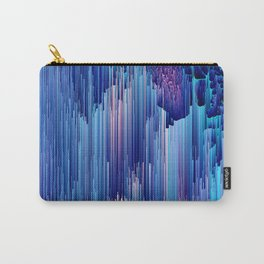 Beglitched Waterfall - Abstract Pixel Art Carry-All Pouch