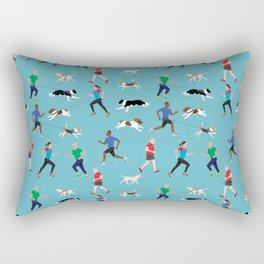 Canicross Quartet Rectangular Pillow