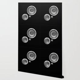 Subwoofer Speaker on black Wallpaper