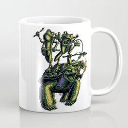 Warrior Frogs Coffee Mug