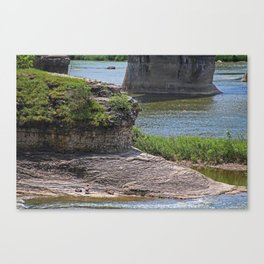 A Maumee Tapestry Canvas Print