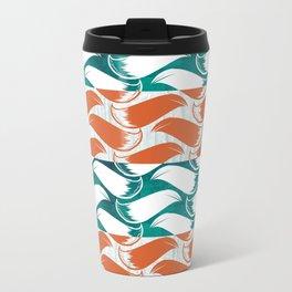 Foxhatched Metal Travel Mug