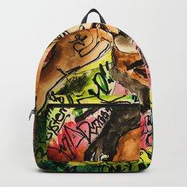 poppy,dancehall,reggae,music,lyrics,poster,jamaica,unruly,wall art Backpack