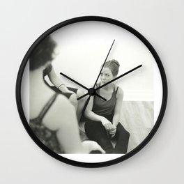 Untitled Portrait 1 Wall Clock