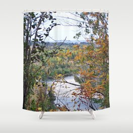 From the Forest to the Sea Shower Curtain