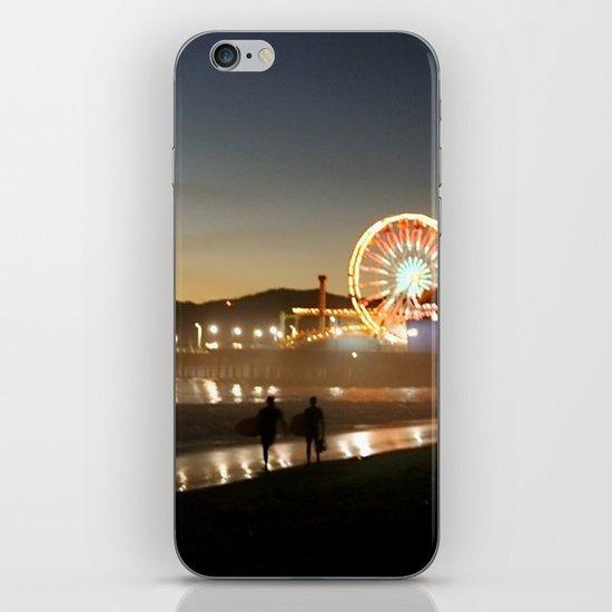 Santa Monica Dazzles iPhone & iPod Skin