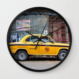 Taxi India Wall Clock