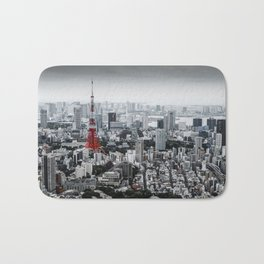 Cinereous City Bath Mat