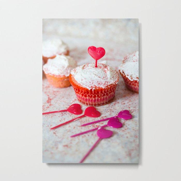 Sweet Cupcake Metal Print