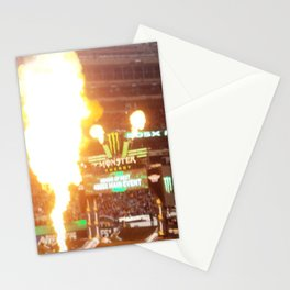 MX Supercross Explosive Fire Stationery Cards