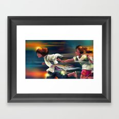 Spritied Framed Art Print