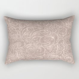 Billowing - Dirty Rose Rectangular Pillow