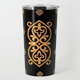 pattern of the past 1 Travel Mug