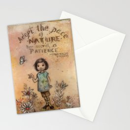 Adopt the Pace of Nature Stationery Cards