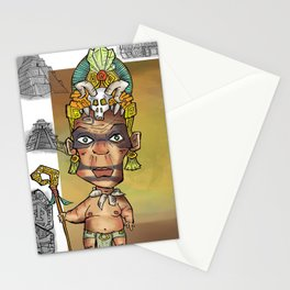 Aztec couple Stationery Cards