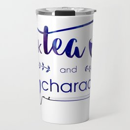 Drink Tea and Kill Characters Travel Mug