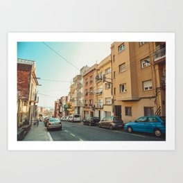 Barcelona street Art Print