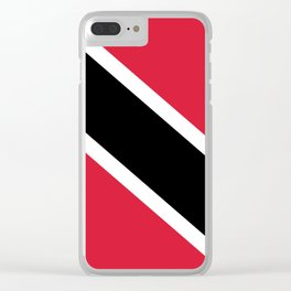 Trinidad And Tobago Flag Clear iPhone Case