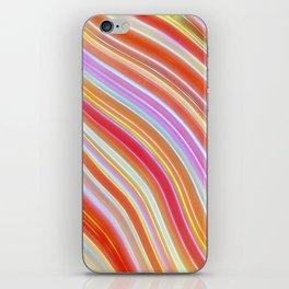 Wild Wavy Lines XXXVII iPhone Skin