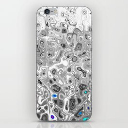 No. 6 Distortions iPhone Skin