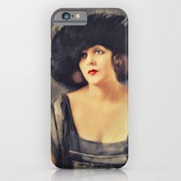 Barbara La Marr, Vintage Actress iPhone Case