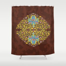 Beauty of tiles Shower Curtain