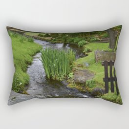 Garden river Rectangular Pillow