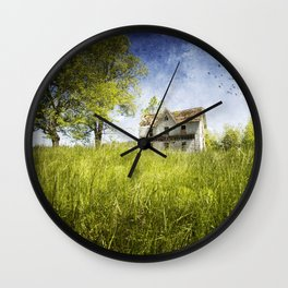 Lost Summers of My Youth Wall Clock