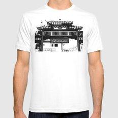 Chinatown Mens Fitted Tee White MEDIUM
