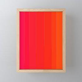 Variety Red Framed Mini Art Print